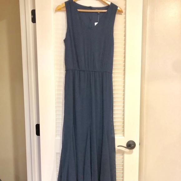 ee5772c21fd Banana Republic maxi hi lo summer dress. NWT